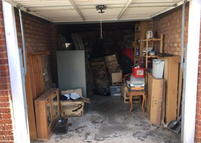 Garage Clearance service - full garage to be cleared